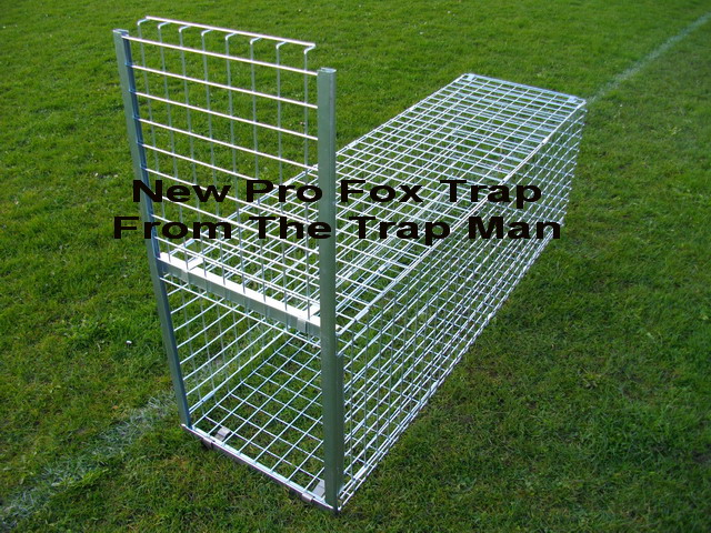 new professional fox cage trap