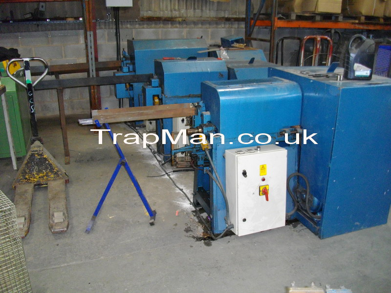 Our three wire straightening and cutting machines